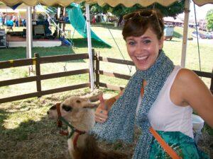 2010: Post-surgery & Llama enthusiasm